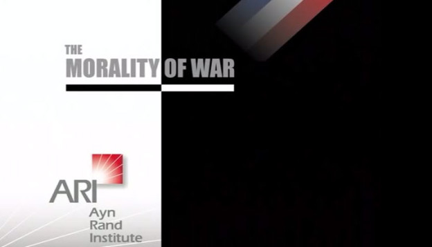 Morality of War by Yaron Brook
