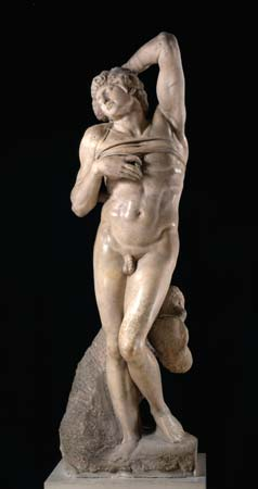 Michelangelo's The Dying Slave